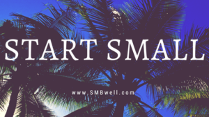START SMALL, END OF PEOPLE PLEASING, HABIT CHANGE, how to have fun