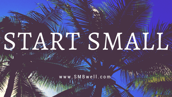 START SMALL, END OF PEOPLE PLEASING, HABIT CHANGE, how to have fun, happiness habits