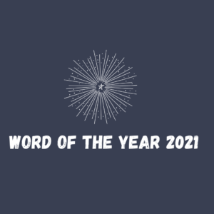 WORD OF THE YEAR resolutions